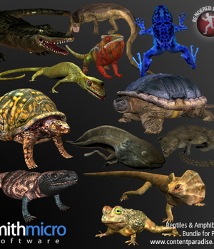 Reptiles and Amphibians Bundle Legacy Discounted Content Smith_Micro
