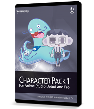 Moho Character Pack Volume 1 2D Graphics Poser_Software