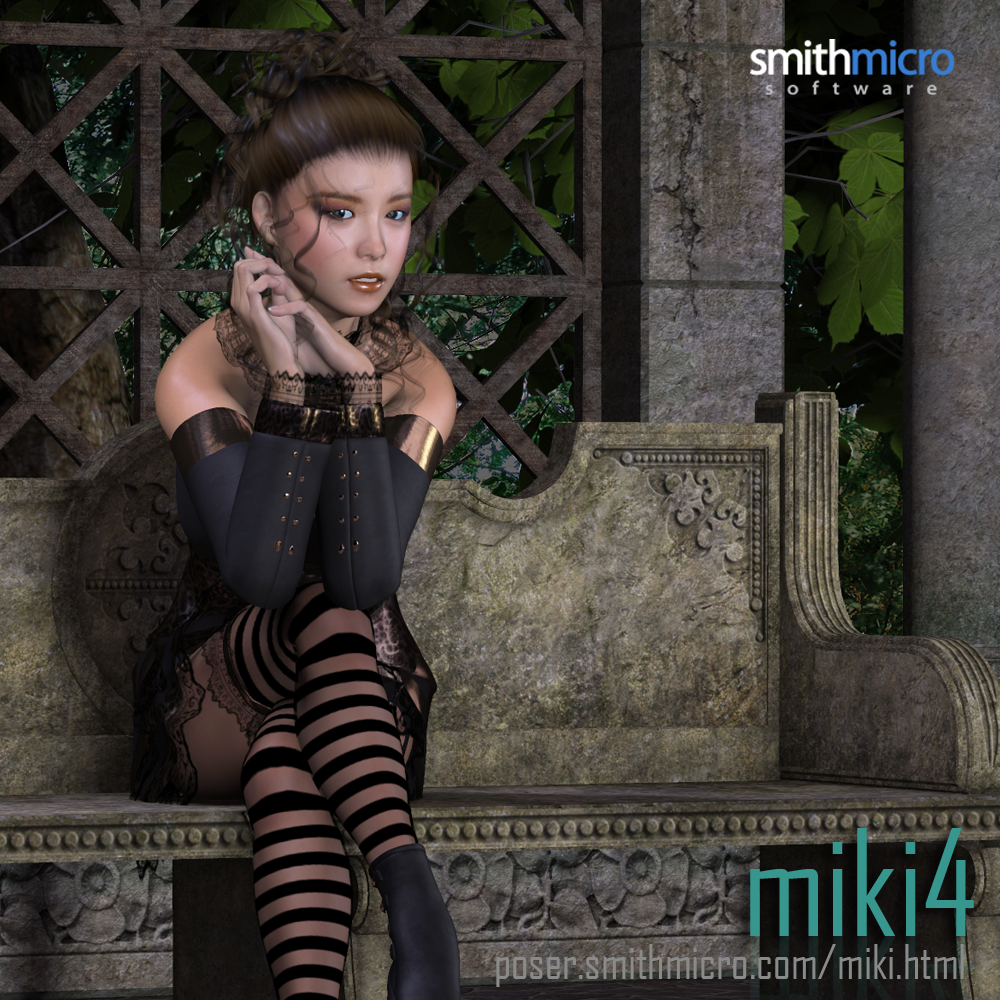 Miki 4.0 by Poser_Software