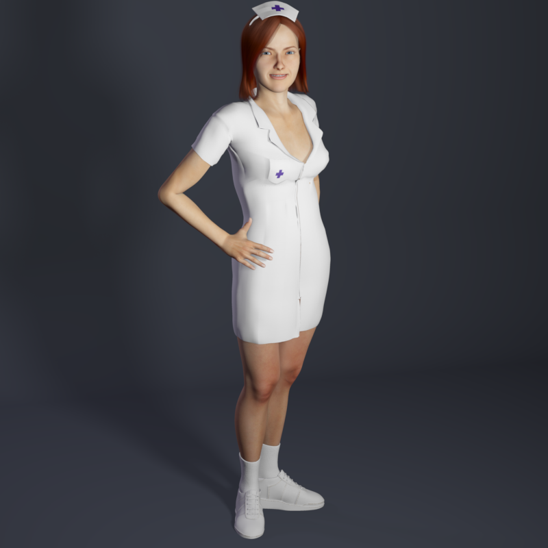 Medical Clothing for Rex and Roxie by Poser_Software
