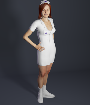 Medical Clothing for Rex and Roxie Legacy Discounted Content Poser_Software