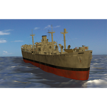 The Military Transport Pack for Poser image 6