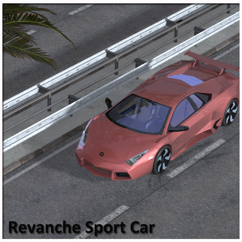 The Sports Car Pack for Poser