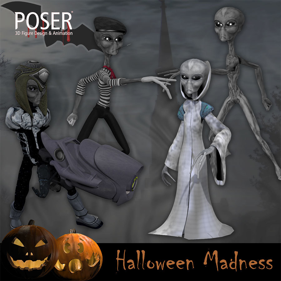 Halloween Madness for Poser