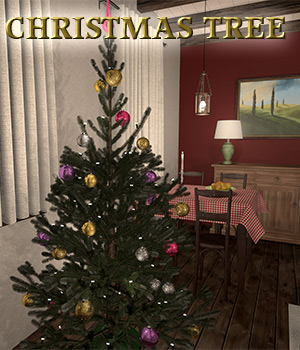 Christmas tree for Poser 3D Models 2nd_World