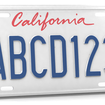 CAR LICENSE PLATE - Extended License image 1