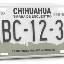 CAR LICENSE PLATE - Extended License image 3