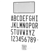 CAR LICENSE PLATE - Extended License image 6