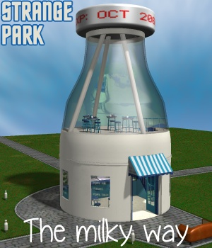 Strange Park - The milky way - Extended License 3D Models Extended Licenses greenpots