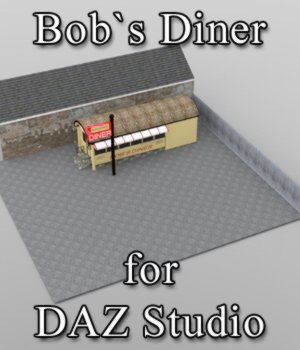 Bobs Diner - for DAZ Studio  3D Models VanishingPoint