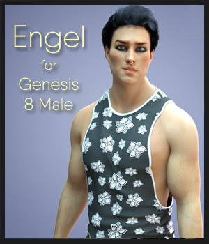 Engel for Genesis 8 Male 3D Figure Assets MoyKot