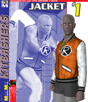 Jacket 001 MMKBG3M 3D Figure Assets MightyMite