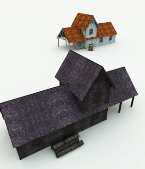Haunted Woodmill for Shade 3D Models Meshbox
