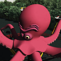 Octopus Ride for Poser image 2