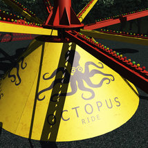 Octopus Ride for Poser image 3