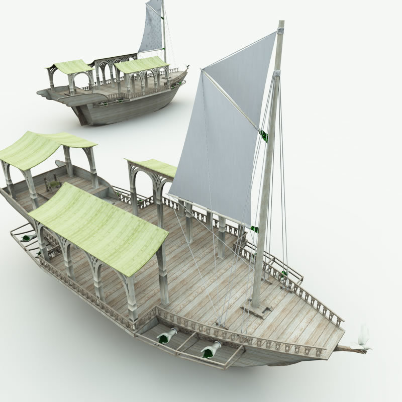 Elven Wizard Ship for Bryce