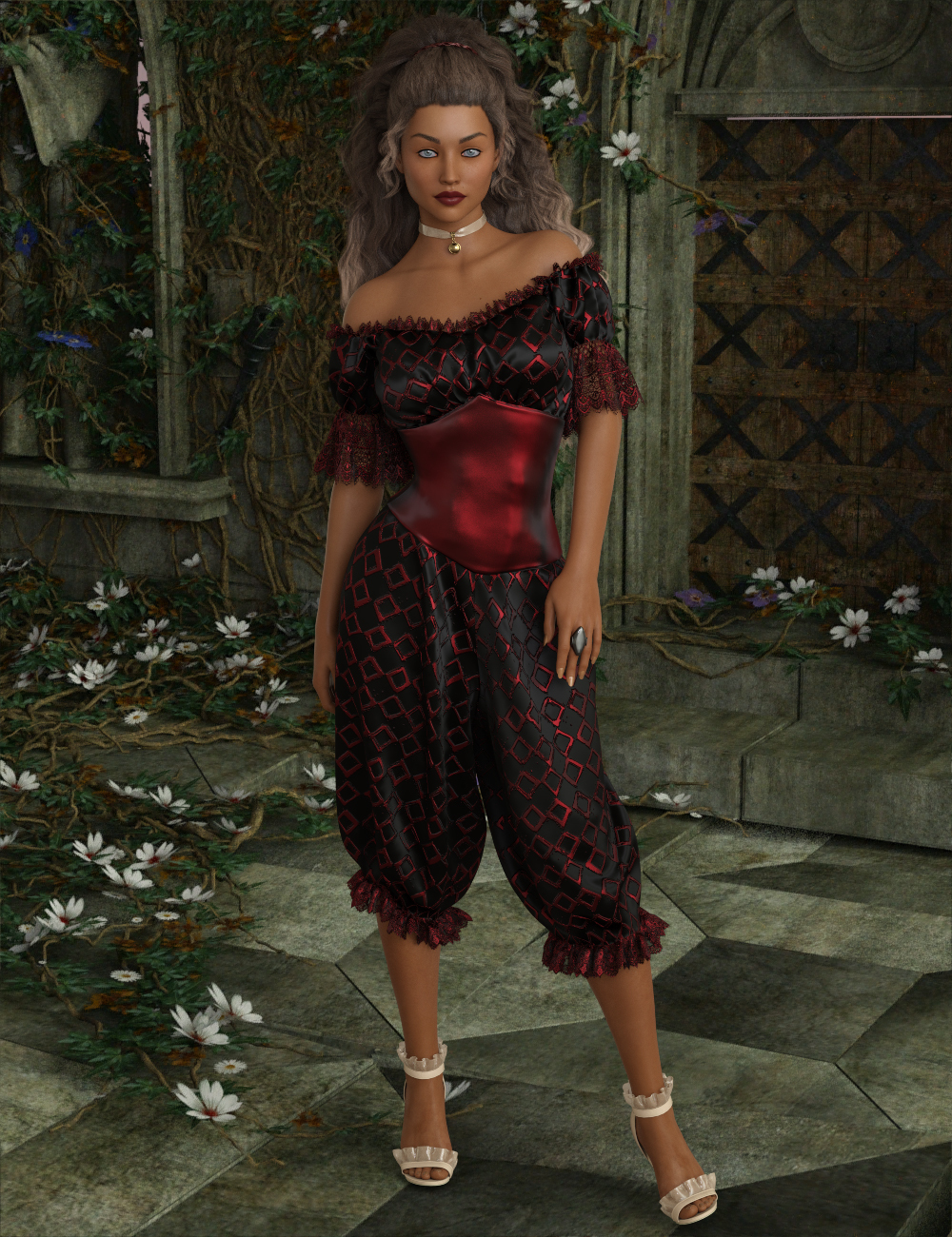 InStyle - dForce - Victorian Mistress for G8F by -Valkyrie-