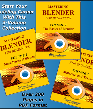 MASTERING BLENDER for Beginners Legacy Discounted Content Winterbrose