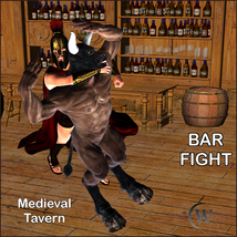 BAR FIGHT Poses for Genesis 2 Male(s) image 4