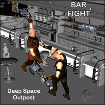 BAR FIGHT Poses for Genesis 2 Male(s) image 6