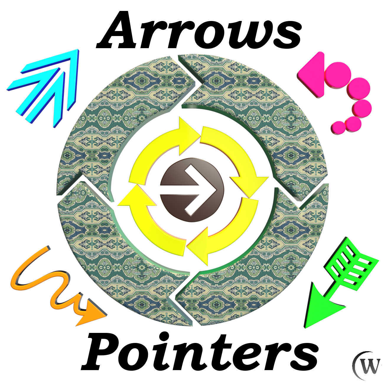 3D Elements:  Arrows and Pointers for POSER