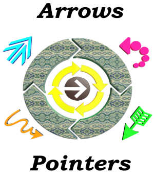 3D Elements:  Arrows and Pointers for POSER Legacy Discounted Content Winterbrose