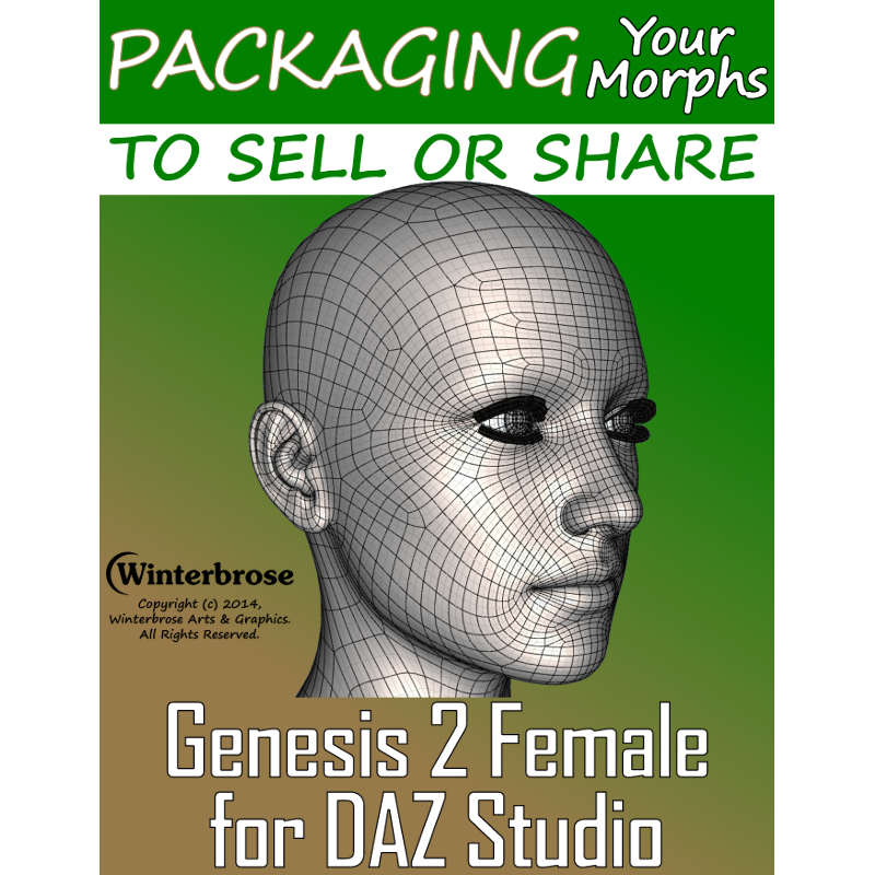 Packaging Genesis 2 Female (G2F) Morphs To Sell or Share