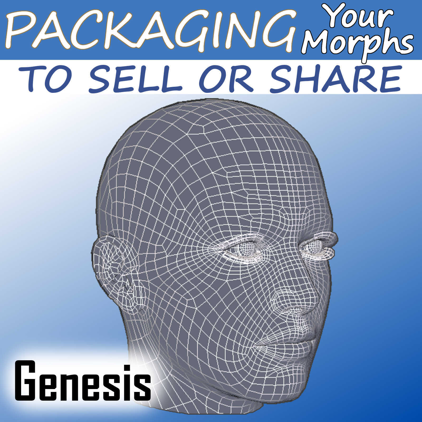 Packaging Genesis Figure Morphs To Sell or Share