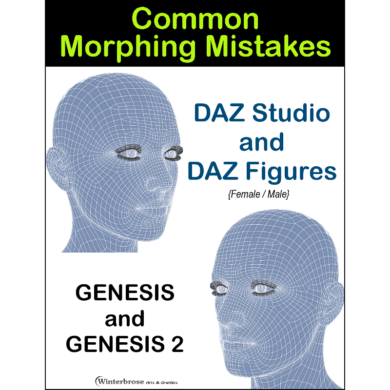 Common Morphing Mistakes with Daz Figures