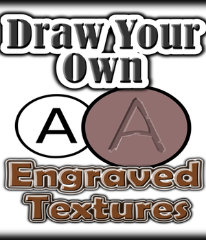 Draw Your Own ENGRAVED TEXTURES Legacy Discounted Content Winterbrose