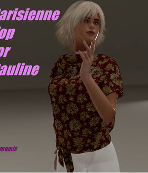 Parisienne Shirt for Pauline Legacy Discounted Content FVerbaas