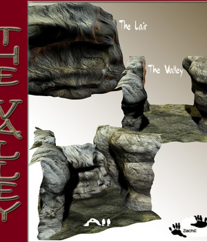 The Valley 3D Models zachary