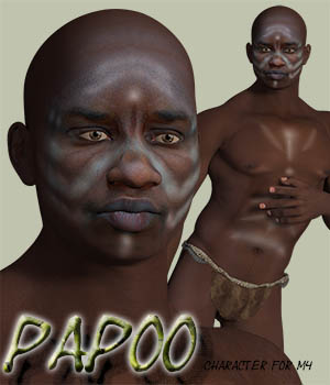 Papoo for Michael 4 3D Figure Assets zachary