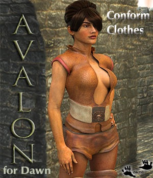 Avalon for DAWN 3D Figure Assets zachary
