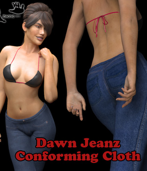 Dawn Jeanz 3D Figure Assets zachary