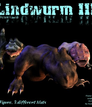 Lindwurm III 3D Models CorporateArts