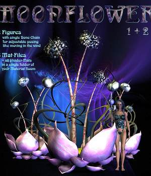 Moonflower 3D Models CorporateArts