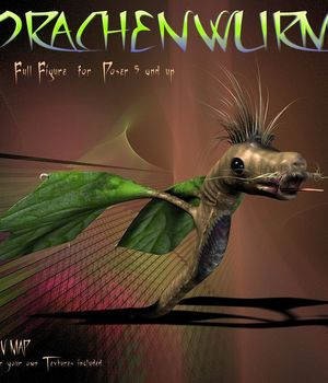Drachenwurm 3D Models CorporateArts