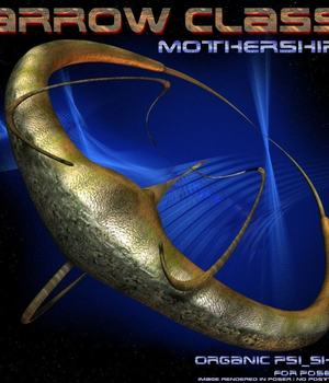 ArrowClass Mothership for Bryce 3D Models CorporateArts