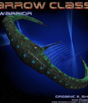 Arrow Warrior Class for Bryce 3D Models CorporateArts