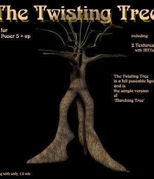The Twisting Tree 3D Models CorporateArts