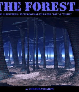The Forest for Bryce 3D Models CorporateArts