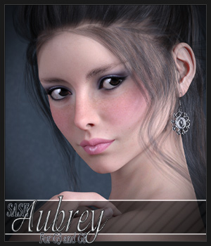 SASE Aubrey for Genesis 3 and Genesis 8 3D Figure Assets Sabby