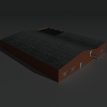 Low Poly Factory Building 21 - Extended Licence image 6