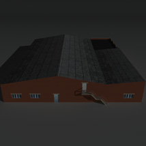 Low Poly Factory Building 21 - Extended Licence image 7