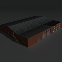 Low Poly Factory Building 21 - Extended Licence image 8