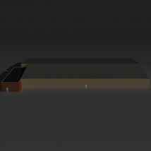 Low Poly Factory Building 22 - Extended Licence image 3