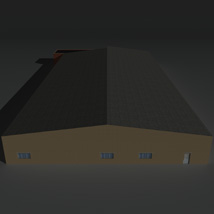 Low Poly Factory Building 22 - Extended Licence image 5