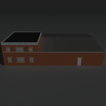 Low Poly Factory Building 23 - Extended Licence image 3