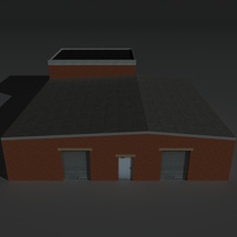 Low Poly Factory Building 23 - Extended Licence image 5